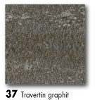37 Travertin graphit